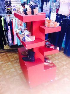 76dae045 Exhibidor De Zapatos O Para Tienda De 6 Niveles en Mercado Libre México