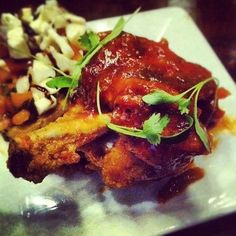 chicken lollipops @TerraceCafeLLC // Charlotte, NC // {the five senses} in the Queen City #5senses #taste (Taken with Instagram at Terrace Cafe)