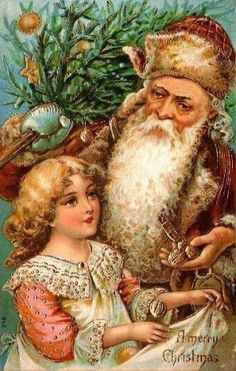 Jolly Old St. Nick { Santa Claus } by marjorie