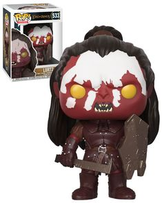 Funko POP! Movies Lord Of The Rings #533 Lurtz - New, Mint Condition.  https://www.ebay.com.au/itm/332576947749  OR https://www.supportivepc.com  #Funko #FunkoPop #LordOfTheRings #Collectibles