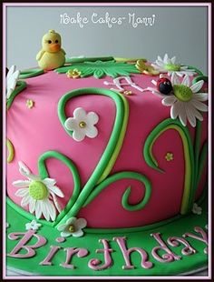 Birthday Cake by iBake Cakes.     Hey everyone, Finally a solution that works! I saw this new weight loss product on TV and I have lost 26 pounds so far. Click the pinterest image to check it out!