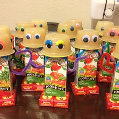 Robot party snack-im so gonna make this once keagan is in school!!!