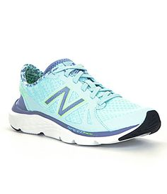 New Balance Womens 690 Running Shoes mesh/synthetic freshwater/icarus/toxic sz7.