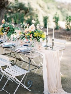 Tablescape | Terra Mia Paso Robles Wedding