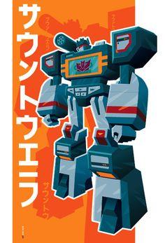 Transformers, Soundwave by Tom Whalen