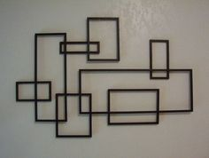 Need something like this on the carport wall....or maybe not...might clash with the mondrian ceiling...