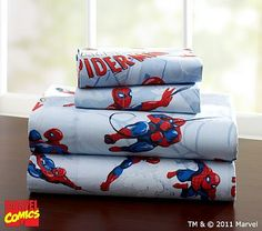 Spider-Man™ Sheeting; what better way to keep The Boogey Man at bay?!