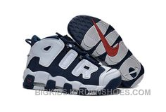 "half off 0a941 70197 Womens Nike Air More Uptempo Girls ""Olympic"" Midnight Navy White-Red Sale  Super Deals 2RRAD"