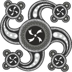 black and white swastika Sun Tattoos, Baby Tattoos, Wolf Tattoos, Body Art Tattoos, Tattoos For Guys, Old Symbols, Sacred Symbols, Celtic Symbols, 3rd Millennium
