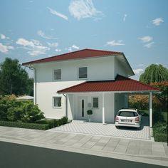 Stadtvilla mit integrierter garage  individuell geplant ! - Mediterane Stadtvilla mit integrierter ...