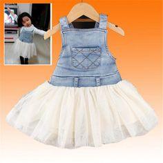 Girls Summer Overalls Denim Tutu Dress Assurance: 100% Brand New & High quality. Shipping: 100% FREE