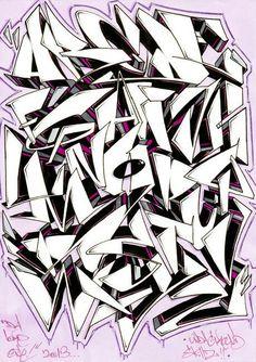 Grafitti Alphabet, Graffiti Alphabet Styles, Graffiti Lettering Alphabet, Graffiti Font, Graffiti Tagging, Graffiti Artwork, Graffiti Drawing, Graffiti Styles, Cursive Fonts Alphabet