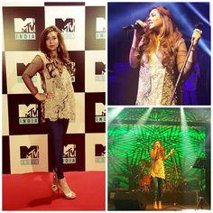#KomalRizvi Rocked The House at #MTV #India Undivided in #Dubai #Music #MTVIndia #Bollywood