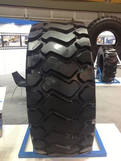 MS301 Tire #MaxamTire #2013 #Tire #Tyre #Tires #Show #AIMEX #Sydney #Australia #Stamford #Exhibition #OTR #MS301 #Solid #Pneumatics #Industrial #Construction #Mining #Smooth #Running