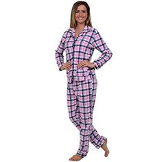 #Christmas Who sells Del Rossa Women's Two Piece Button Up Fleece Pajama Set, Small Pink and Blue Plaid (A0324P68SM) for Christmas Gifts Idea Promotion . Picking a Christmas outfits  demands a number of knowledge of satisfies of which slimmer each and every design, suitable style social manners, along with tips on how to stylize clothes. Learning just ...