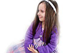 Háčkovaný svetrík - bolerko  www.vikea.eu