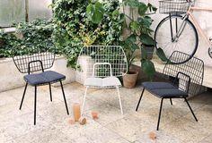 Trendalert: draadstoelen in huis | InteriorTwin