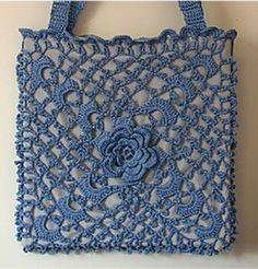 Irish Crochet Featured in Museum Exhibit — Crochet Concupiscence Irish crochet bag.