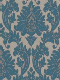 Graham and Brown Graham and Brown Poise Wall Paper Majestic pattern 30435. Keywords describing this pattern are Damask, textured, textured look, Graham and Brown, designer wallpaper.  Colors in this pattern are Blue, Dark Gray, Medium Gray, Orange, Pink.  Alternate color patterns are 30418;Page:1,3;30419;Page:6;30433;Page:15;30434;Page:9;30436;Page:14;30437;Page:20.  Coordinating patterns are 30446;Page:11. Product Details:  peelable  washable  Material is Vinyl Coated Paper. Product…