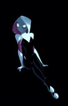 Spider-Gwen by Stephen Byrne