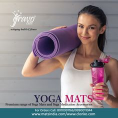 #YogaMatsSupplier  Want to make your yoga practice safe and comfortable! Get in touch with us at #Gravolite and we will customize our range of #YogaMats for you the best one as per your exact need and taste in terms of material, thickness, design, size and color. Mention your specifications to get the customized yoga mats.  Visit Website >> http://www.matsindia.com/portfolio/portfolio-category/yoga-mats/  Buy now >> http://clonko.com/