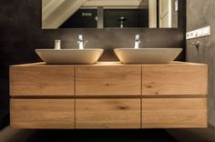 Risultati immagini per houten badkamermeubel ikea Bathroom Toilets, Wood Bathroom, Bathroom Furniture, Modern Bathroom, Bathroom Interior, Small Bathroom, Master Bathroom, Bad Inspiration, Bathroom Inspiration