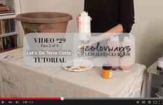 Colorways: Video #29  Let's Do Terra Cotta