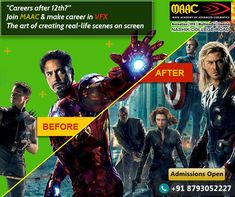 Looking for professional VFX and animation course in Bhopal? MAAC is a leading Animation, VFX, Multimedia & Gaming training institute.MAAC Bhopal is one of the best animation institute in Bhopal. Vfx Course, Animation Institute, Cool Animations, 3d Animation, Visual Effects, Filmmaking, Dreaming Of You, Real Life, Gaming