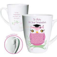 Personalised Graduation Mug - Miss Owl  from Personalised Gifts Shop - ONLY £9.95