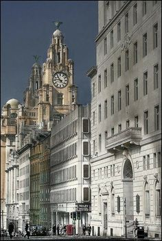 GRE building in Water Street, Liverpool, England