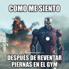 Nosotros sentimos que destrozamos el gym cuando hacemos piernas... ¿Y tú?…