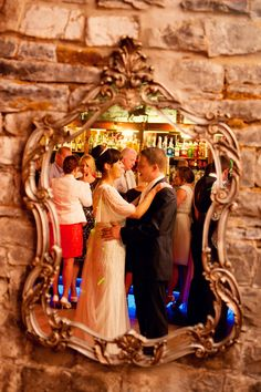 wedding photography photographer ireland irish bride and groom first dance mirror Dance Mirrors, Wedding Reception Photography, Chinese Lanterns, Irish Wedding, House On A Hill, First Dance, Sparklers, Fairy Lights, Kara