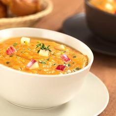 Soupe de pommes et carottes