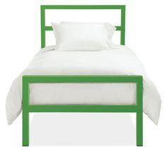 Room & Board - Parsons Kids' Bed in Colors - Modern Beds - Modern Kids Furniture Modern Kids Furniture, Bed Furniture, Street Furniture, Green Kids Furniture, Furniture Ideas, Eclectic Furniture, Furniture Buyers, Furniture Websites, Inexpensive Furniture