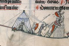 A veces los perros acosan a las pobres liebres...   Verdun - BM - ms. 0107, f. 137v. Breviary, Use of Verdun. Metz, c.1302-1305.