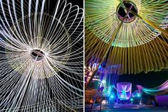 pavilion using ropes - Google Search