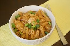 A Taste of Home Cooking: Guest Post - Skillet BBQ Chicken Pasta