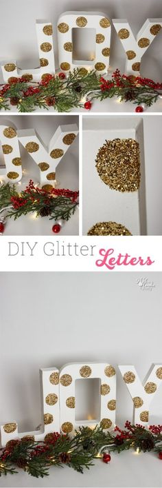 What a cute and easy DIY Christmas decoration! Love crafts and ideas like these to add some cheap Christmas decorations each year.
