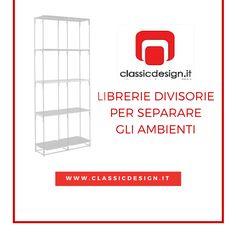 Librerie divisorie di design