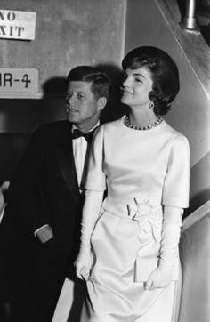 Jackie Kennedy and John F. Kennedy, 1961