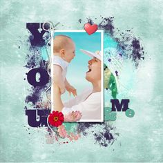 """My layout with the new kit from @happyscraparts """"You & Me"""" at digiscrap.nl"""
