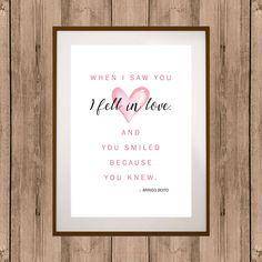 Gift for Wife, Gift for Husband, Love Quote, Printable Love Quote, Digital Wall Art, Holiday Gift Art, Engagement Gift, Love Decor Gift #lovegift #lovequote #printablelovegift #digitalwallart #giftforspouse #giftforwife #giftforhusband