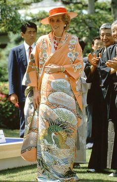 Diana Princess of Wales in Japan May 1986 Prince Harry Diana, Kyoto Garden, One & Only, Princess Diana Fashion, Lily James, Lady Diana Spencer, John Legend, Princess Of Wales, Real Princess