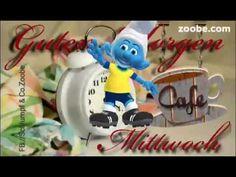 Guten Morgen am Mittwoch  Schlumpf Videos Zoobe Schlümpfe Animation