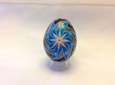 Ukrainian Egg, windmill design ~ Pysanka ~ Pysanky ~ Ukrainian Easter Egg by EggsbyShari on Etsy https://www.etsy.com/ca/listing/489656278/ukrainian-egg-windmill-design-pysanka