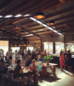 "The dining room proper (which operates on a ""no frills, no tablecloths"" policy) serves what Three Blue Ducks chef and co-owner Darren Robertson and his business partner Mark LaBrooy call casual, nutritious, tasty food, while the store offers takeaway meals, coffee and organic groceries."
