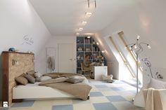 Image result for oswietlenie przy lozku sypialnia pod skosami