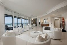 Best White Leather Curved Sofa Contemporary Living Room Furniture Ideas