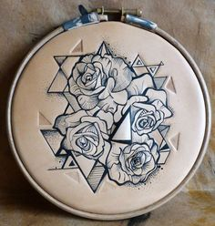 Roses & triangles