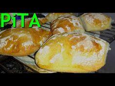 PAINE DE CASA aluat PUFOS fara framantare RETETA PAS cu PAS - YouTube Bread Recipes, Cake Recipes, Just Bake, Lebanese Recipes, Home Food, Baked Goods, Vegan, Baking, Breads